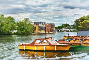 Boats For Hire At Windsor