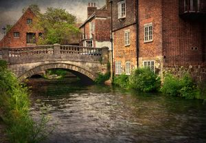 Winchester City Bridge and Mill