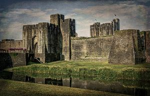 The Gatehouse At Caerphilly Castle