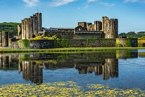 The Towers Of Caerphilly Castle