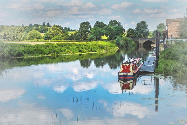 Tewkesbury Waterside - Ian W Lewis