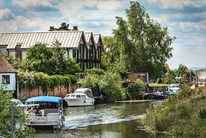 On The Avon At Tewkesbury