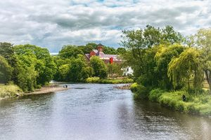 The River Derwent At Cockermouth