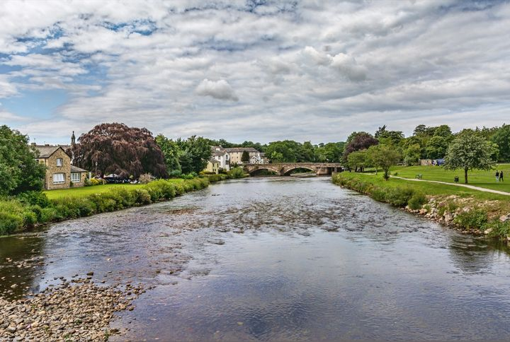 River Derwent Flowing Through Cocker - Ian W Lewis