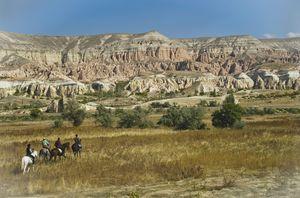 Riding Through Cappadocia