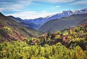 The Atlas Mountains Morocco