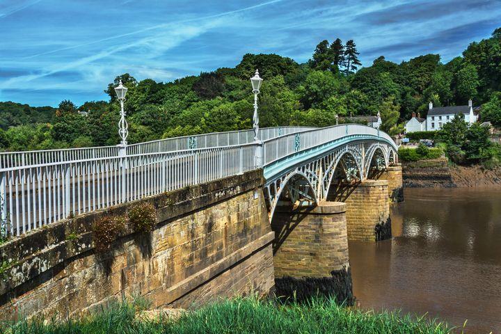 Bridge Over The River Wye - Ian W Lewis