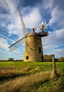 The Windmill At Great Haseley
