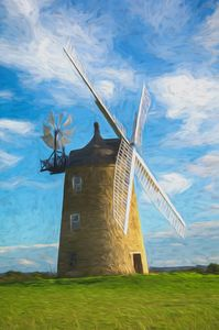 Great Haseley Windmill Impressionist