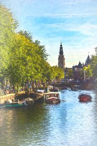 An Impressionist View Of Amsterdam