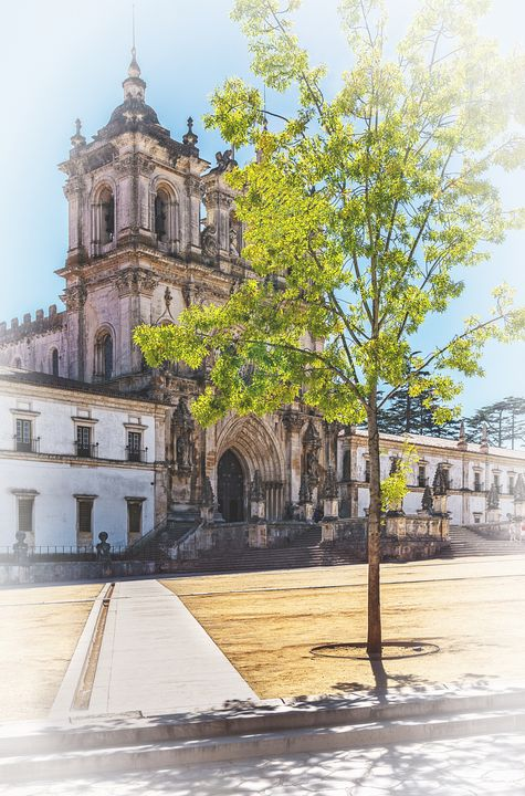 Alcobaça Monastery in Portugal - Ian W Lewis