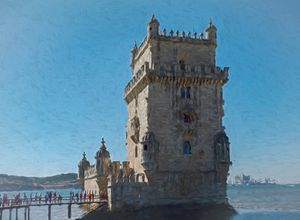 The Belem Tower Lisbon