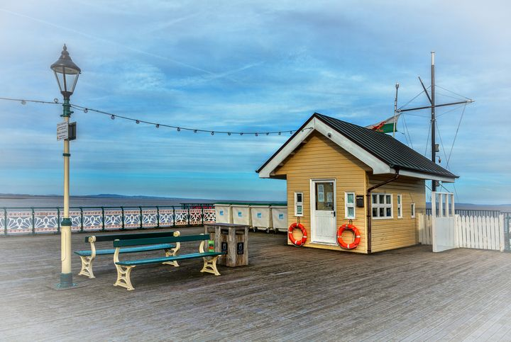 On Penarth Pier - Ian W Lewis