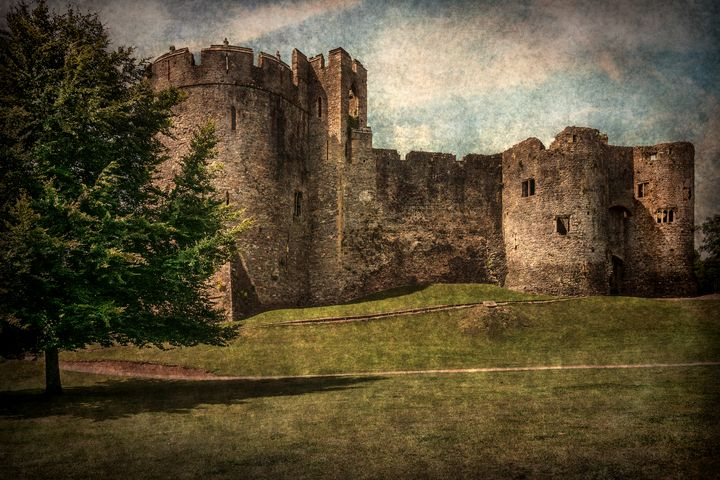 Chepstow Castle Towers - Ian W Lewis
