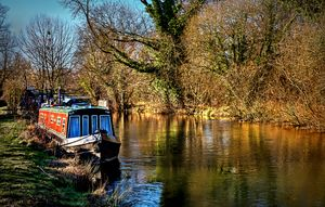 The Kennet In January Sunshine