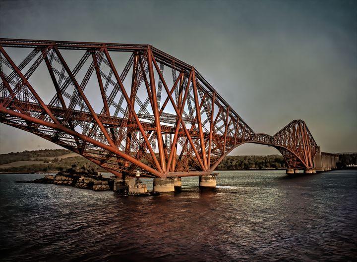 The Forth Rail Bridge - Ian W Lewis