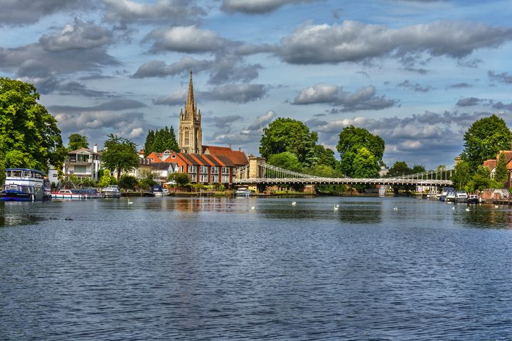 Marlow on Thames - Ian W Lewis