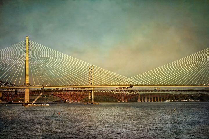 Three Bridges Over The Forth - Ian W Lewis