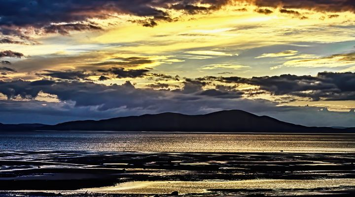 Solway Firth After Stormy Weather - Ian W Lewis
