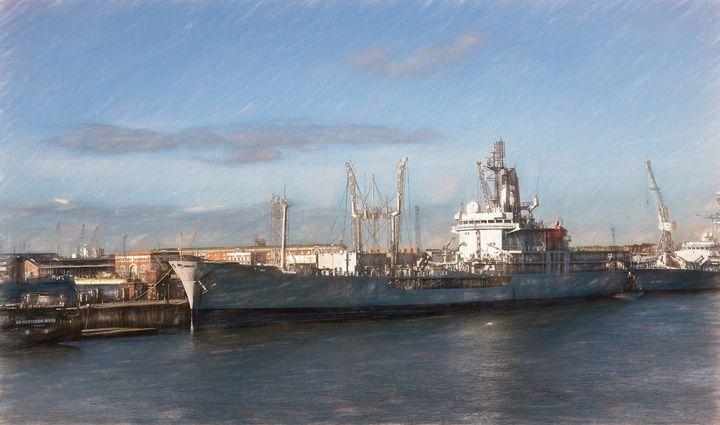 Portsmouth Dockyard - Ian W Lewis