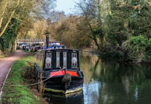 Boats On The Kennet and Avon