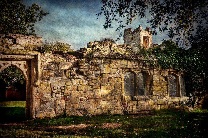 Inner Walls Of Wallingford Castle - Ian W Lewis