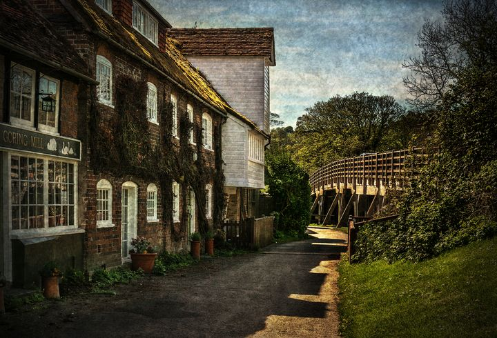 Goring on Thames Watermill - Ian W Lewis