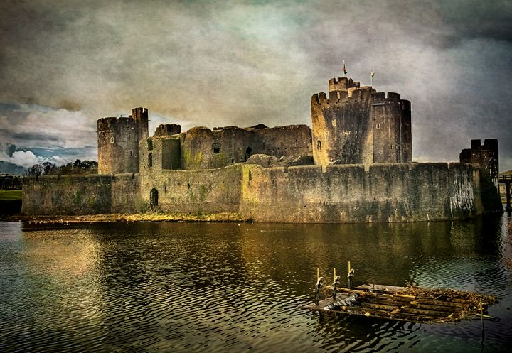 Caerphilly's Stronghold - Ian W Lewis