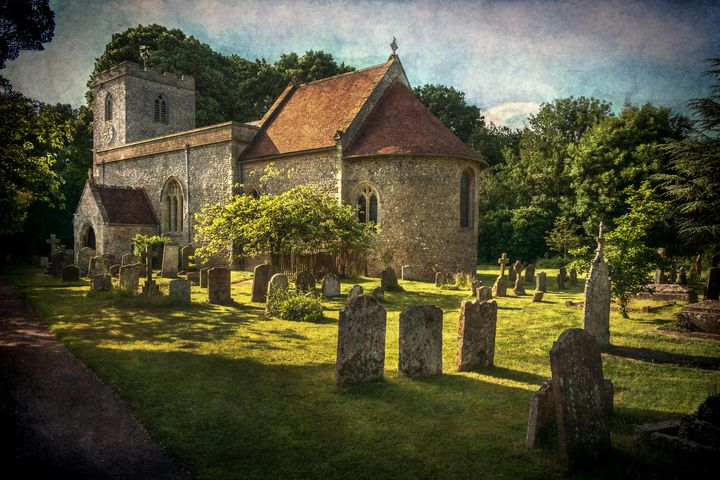 St Peter and St Paul Checkendon - Ian W Lewis