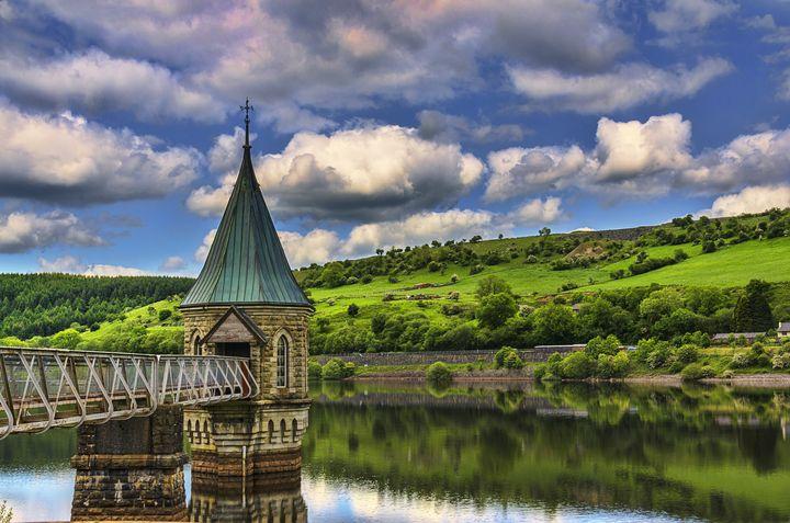 Pontsticill Reservoir Tower - Ian W Lewis