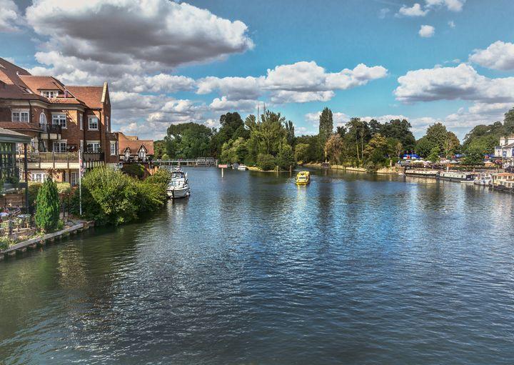 From Windsor Town Bridge - Ian W Lewis