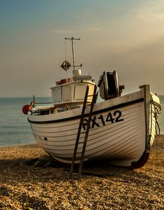 Fishing Boat At Hastings