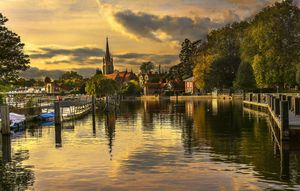 Marlow In The Late Afternoon