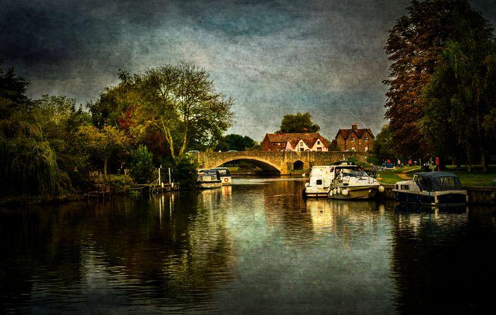 Abingdon Bridge - Ian W Lewis