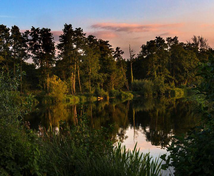 September Sunset - Ian W Lewis