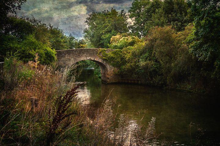 The Bridge at Culham Lock - Ian W Lewis