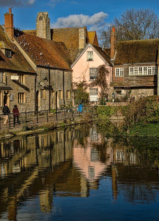 Abbey Buildings Abingdon - Ian W Lewis