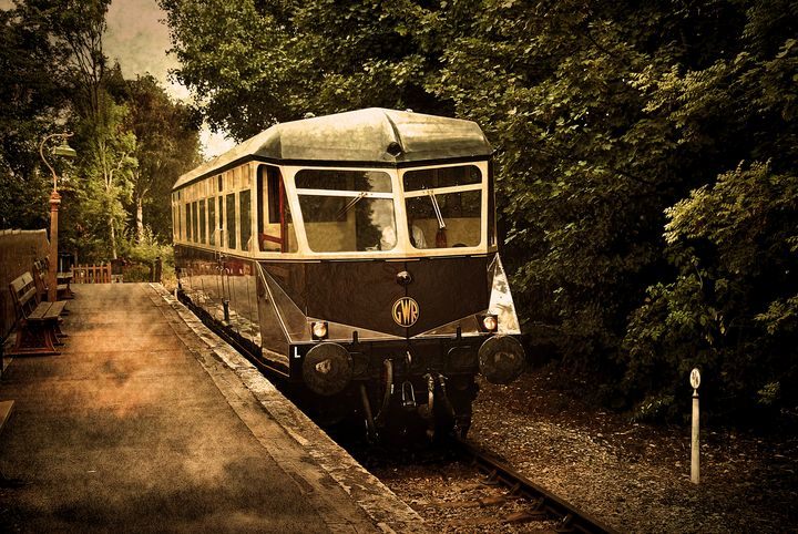 Great Western Diesel Railcar - Ian W Lewis