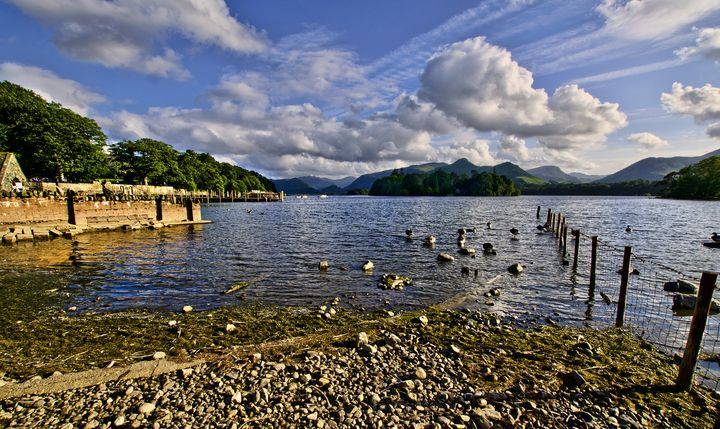 Derwentwater From The Northern Shore - Ian W Lewis