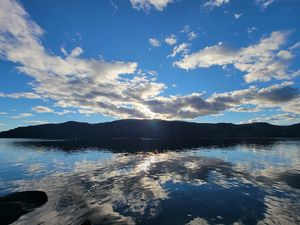 Columbia River Reflection