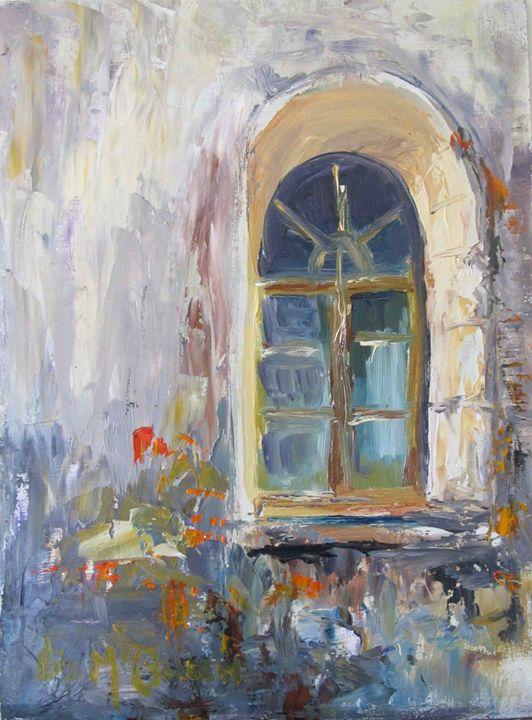 #3811 Cloister window 2 - liz mcQueen's Art