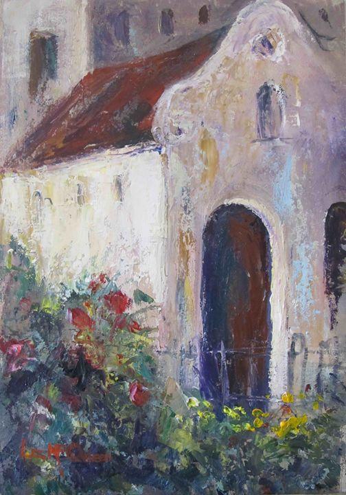 #3810 Ancient church - liz mcQueen's Art