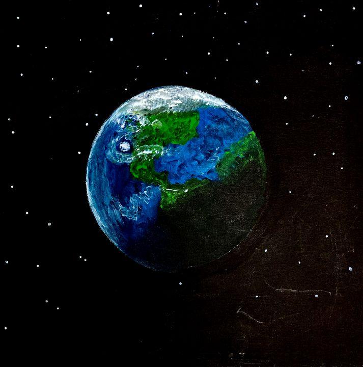 World On the Sky - Shiyas Arts