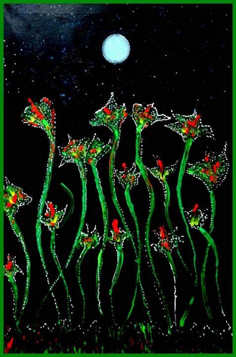 Moon On The Sky - Shiyas Arts
