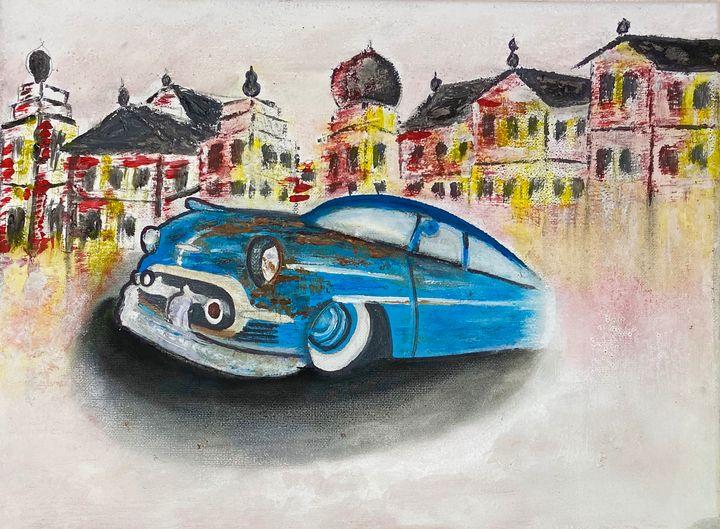Car Abstract - Shiyas Arts