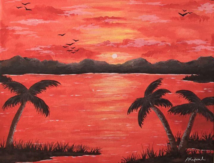 Blood-orange Sunset - Aleks