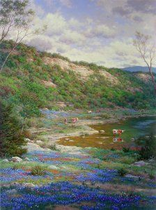 Texas Spring 30x40 Artist Proof #15 - Saunders
