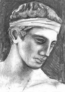 Diadoumenos - greek statue