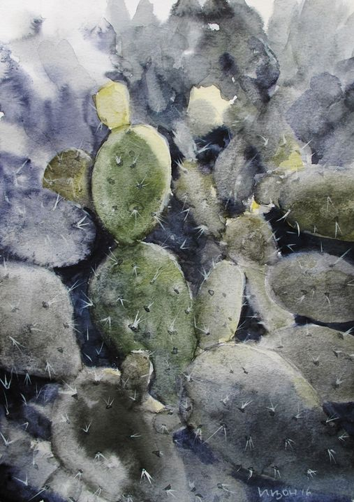 Cactus - PaintingYvonne