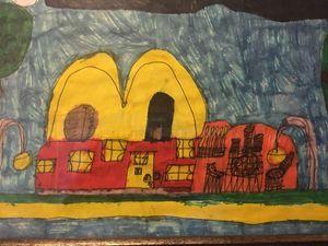 McDonalds house - Works of Art